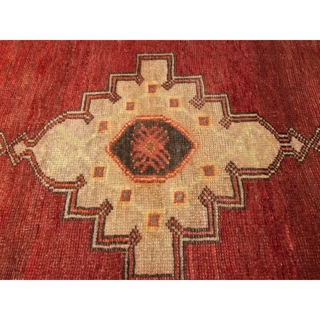 "Bellwether Rugs Vintage Turkish Oushak Runner - 2'4"" X 10'5"" - Image 3 of 10"