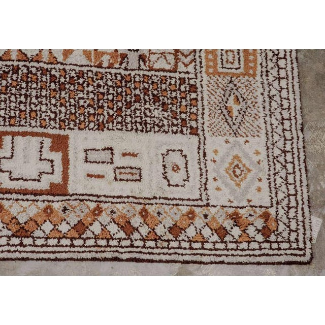 1950s 1950s Moroccan Style Portuguese Rug- 8′ × 10′ For Sale - Image 5 of 10