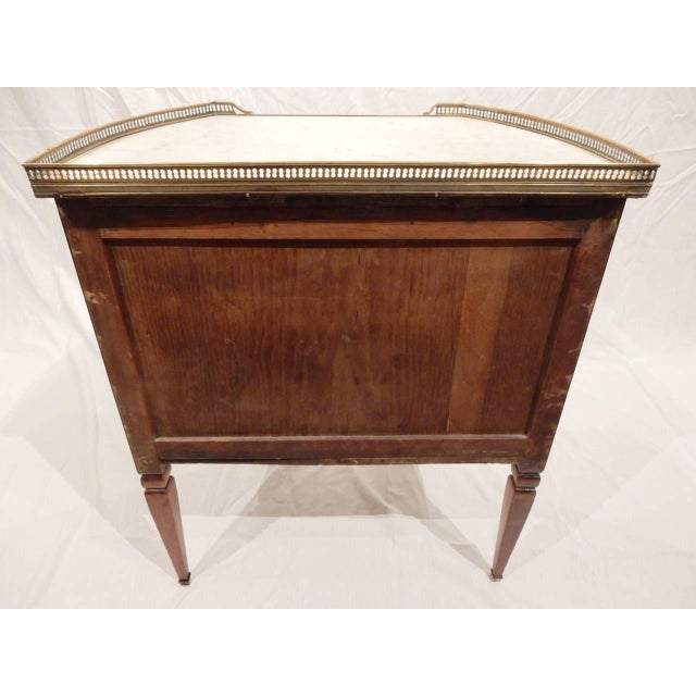 Louis XVI 19th Century Louis XVI Style Walnut Commode For Sale - Image 3 of 5