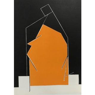 1970 Revue Derriere Le Miroir Pablo Palazuelo Lithograph DM06184 For Sale