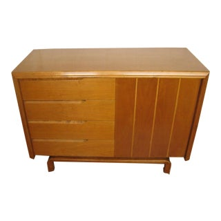 1950s Scandinavian Edmund Spence Maple Sideboard Buffet