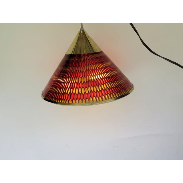 Mad Men modern enthusiast, here is a rare classic. Starting with the multi-shades of red and gold Lucite which covers the...