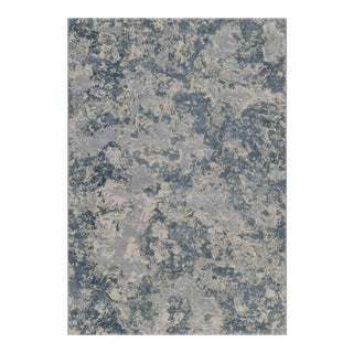 """Stark Studio Rugs Toby Rug in Blue Stone, 5'3"""" x 7'6"""" For Sale"""
