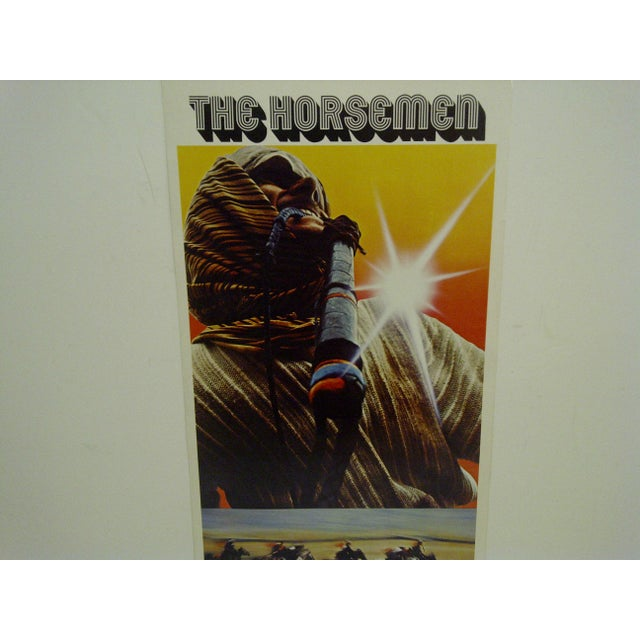 """1971 Vintage Movie Poster of """"The Horsemen"""" For Sale - Image 4 of 5"""