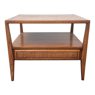 Century Furniture Cane End Table