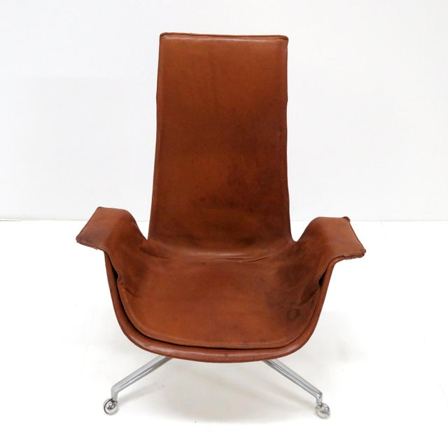 Brown 1960s Vintage Preben Fabricius Jorgen Kastholm Bird Chair For Sale - Image 8 of 12