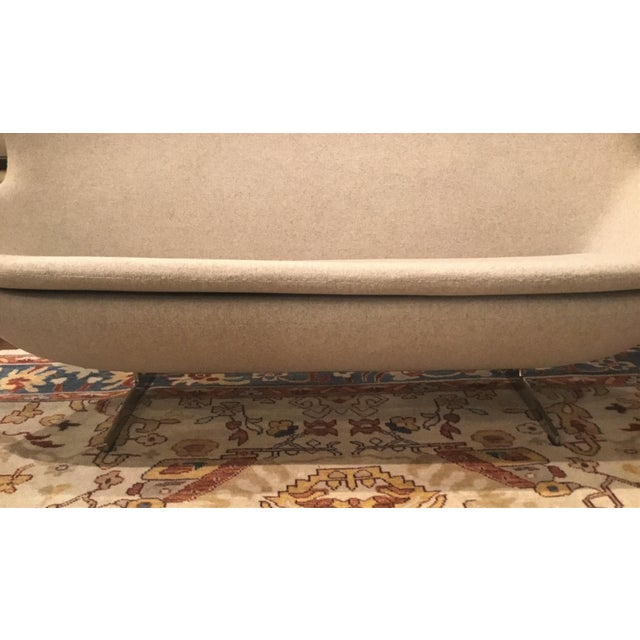 Metal Control Brand The Slattery Settee For Sale - Image 7 of 9
