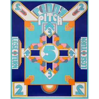 Penny Pitch Poster - Seymour Chwast