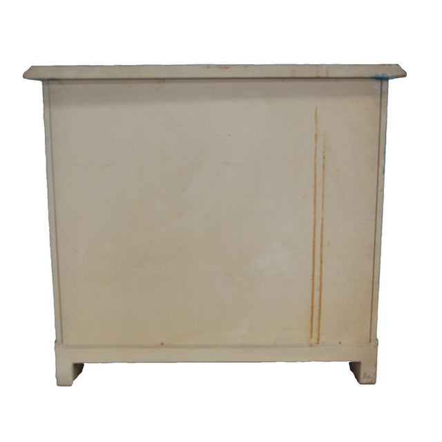 Baker-Style Demilune Cabinet For Sale - Image 4 of 8