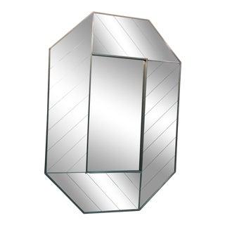Exceptional Carvers' Guild Mirror Herringbone Design For Sale