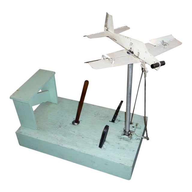 1930's Mechanical Flight Simulator For Sale