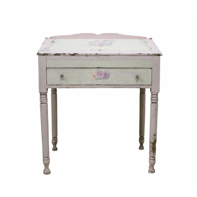 Pink Shabby Chic Desk - Image 1 of 4