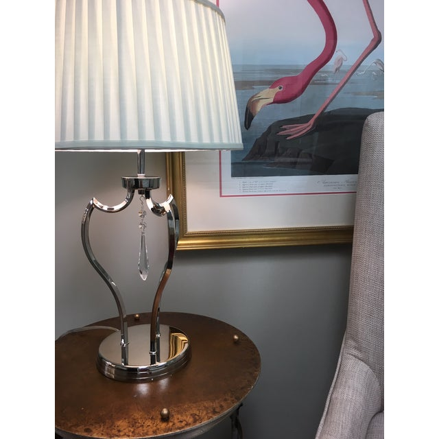 Mid-Century Modern Mid-Century Modern Pimlico Polished Nickel Table Lamp For Sale - Image 3 of 6