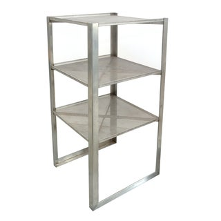 Perforated Steel Shelves