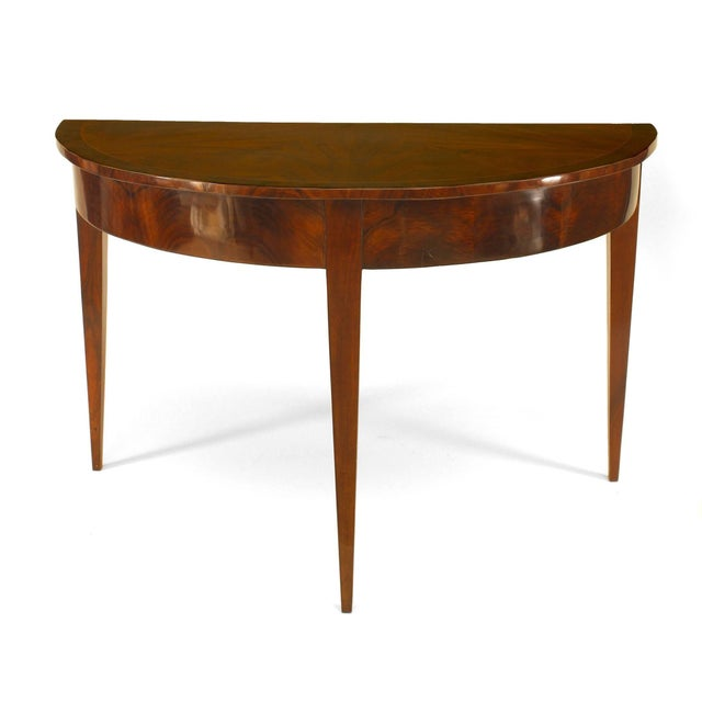 Pair of German Biedermeier Circa 1830 Console Tables For Sale - Image 4 of 4