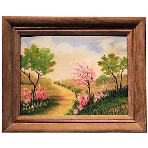 Original Framed Landscape Painting - Image 1 of 5