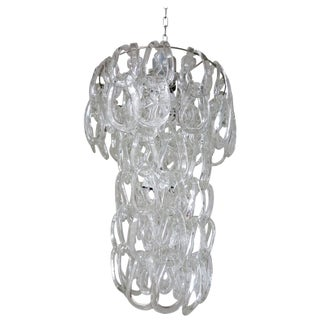 Chain Links Chandelier by Vistosi For Sale