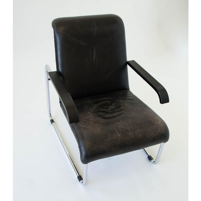 Marcel Breuer for Thonet B35 Leather Lounge Chair - Image 6 of 9