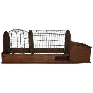 Folk Art Hamster Cage For Sale