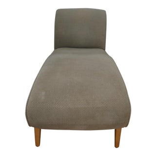 Contemporary Sage Green Chaise Lounge For Sale