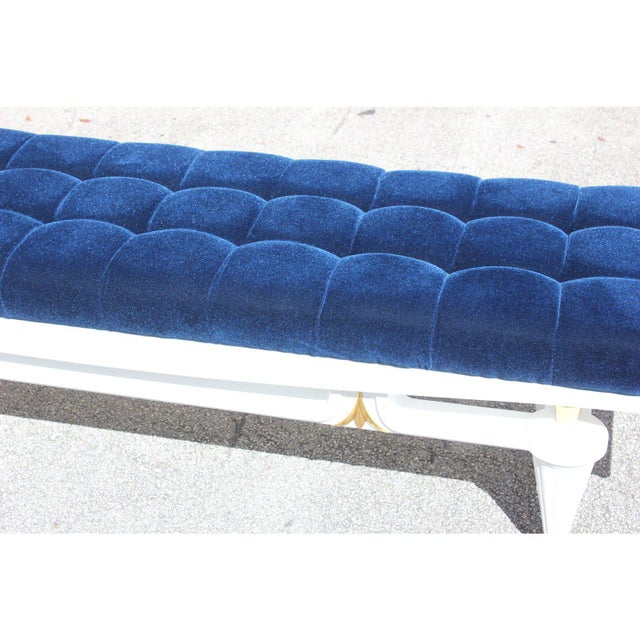 1940s Vintage French Art Deco Long Sitting Bench For Sale In Miami - Image 6 of 12