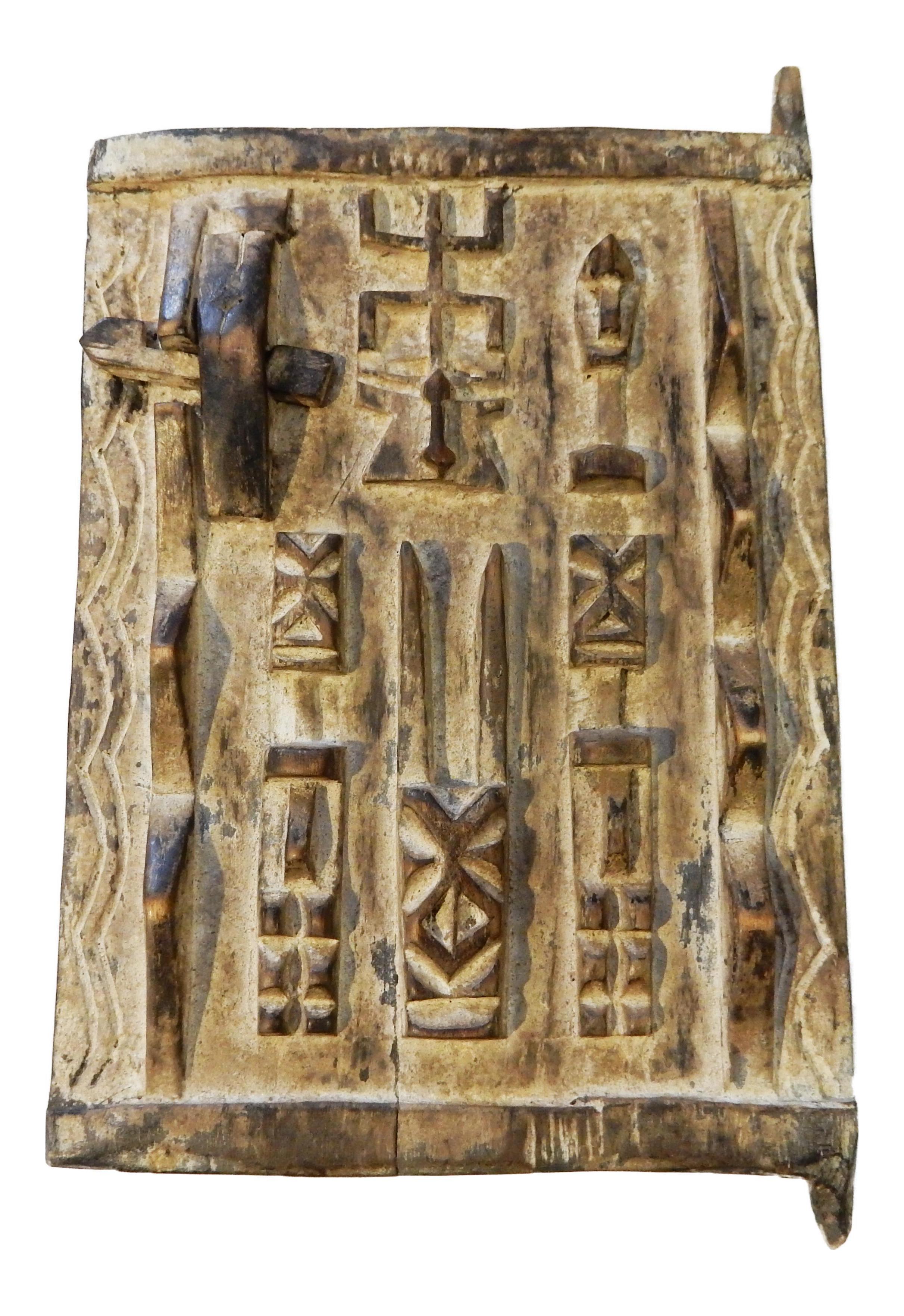 Dogon Door with Figures Mali African Miniature  sc 1 st  Chairish & Dogon Door with Figures Mali African Miniature | Chairish