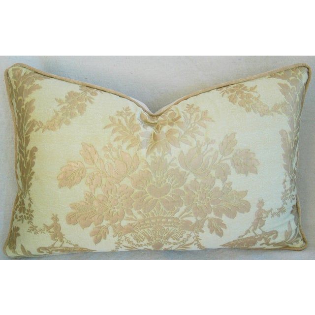 Italian Mariano Fortuny Boucher Pillows - A Pair - Image 4 of 11