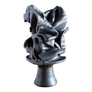 Tim Keenan Abstract Ceramic Sculpture For Sale