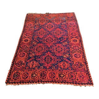 1920s Art Deco Hand Knotted Wool Rug-8′ × 11′10″ For Sale
