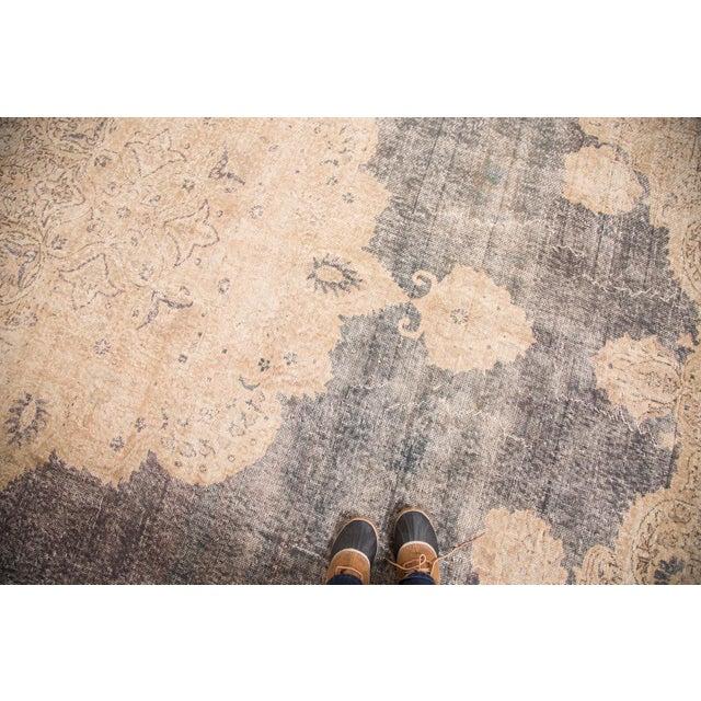 "Distressed Vintage Oushak Carpet - 9'9"" x 14'5"" - Image 2 of 7"