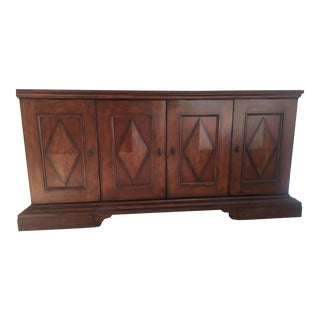 Bernhardt Walnut Finish Media Credenza
