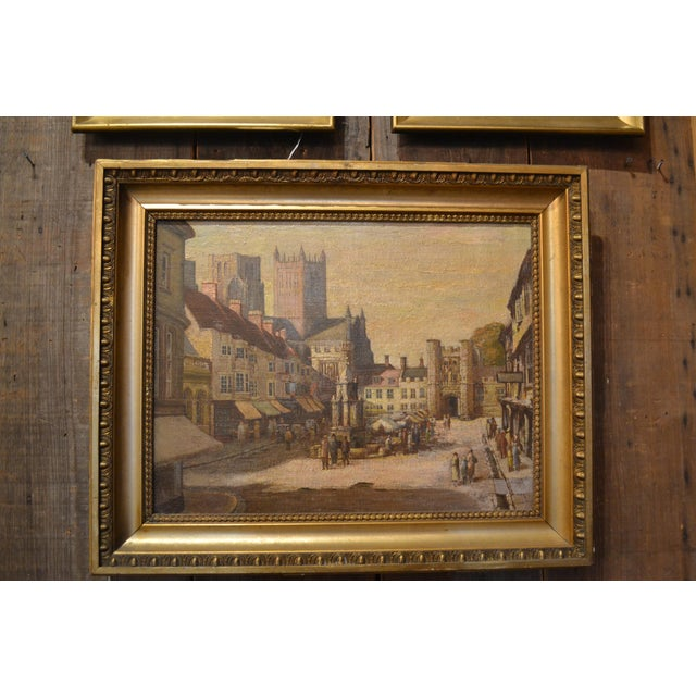 Antique 19th Century English Oil on Canvas For Sale - Image 4 of 4