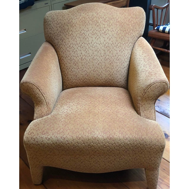 1990s Vintage John Hutton Style Club Chairs Pair For Sale - Image 11 of 13