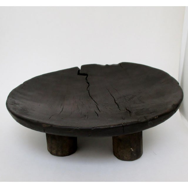 West African Footed Wood Bowl - Image 2 of 8