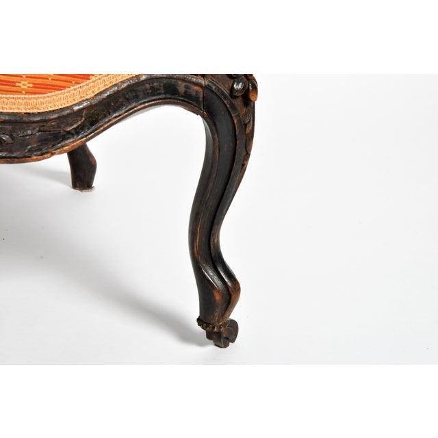 Louis XV Style Fauteuil With Cabriole Legs For Sale - Image 11 of 11