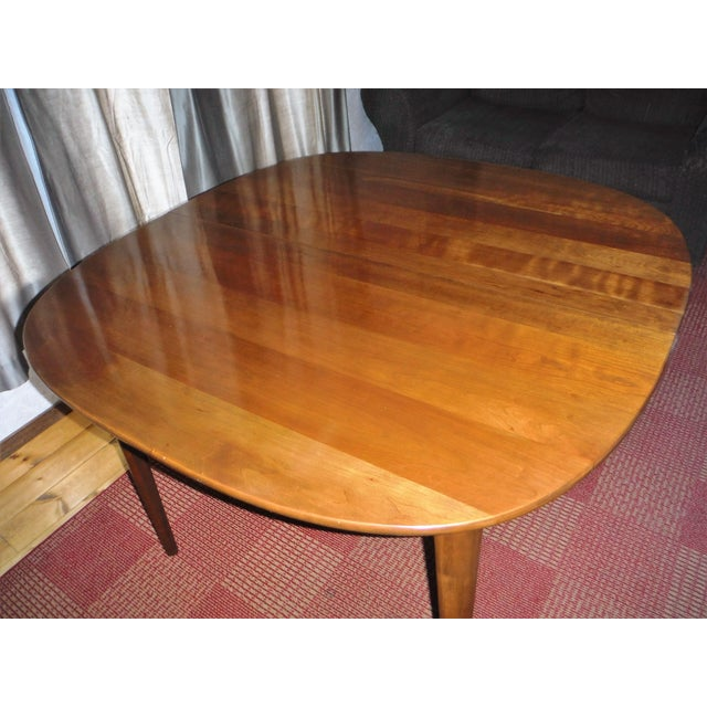 Heywood-Wakefield Solid Cherry Dining Set - Image 6 of 11