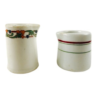 Vintage Restaurant China Creamers - a Pair