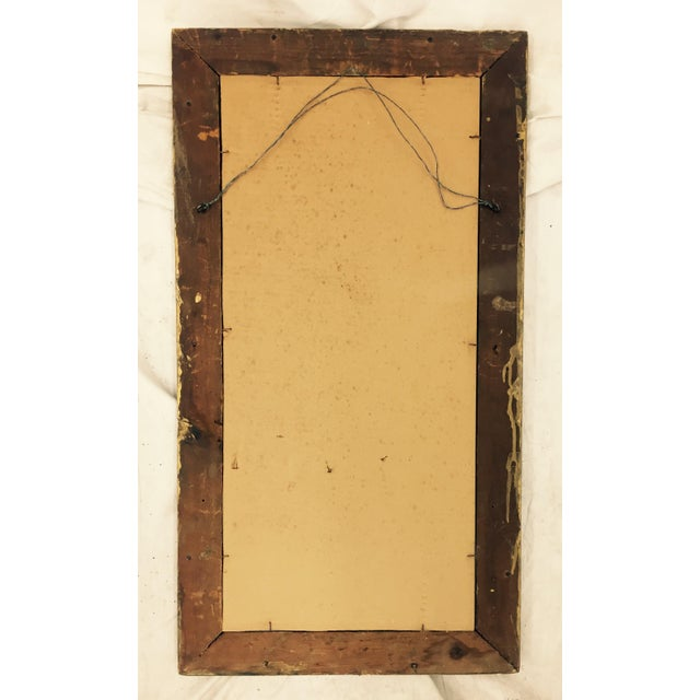 Gold Antique Gold Giltwood & Gesso Mirror For Sale - Image 8 of 9