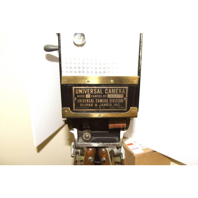 Gold Universal Cinema Camera Built in 1928. Rare Cinema Field Camera. Display As Sculpture. For Sale - Image 8 of 9