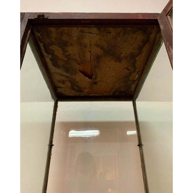 19th Century Display Case For Sale - Image 9 of 13