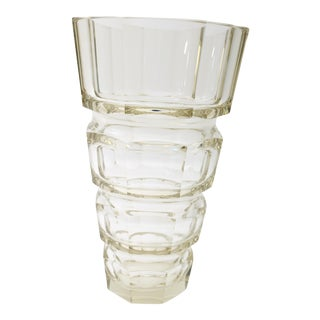 Art Deco Moser Vase For Sale