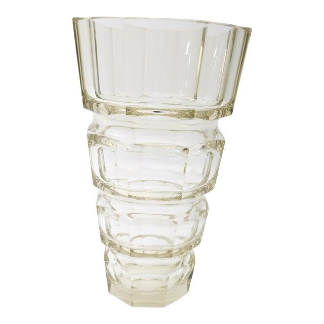 Art Deco Moser Vase Chairish