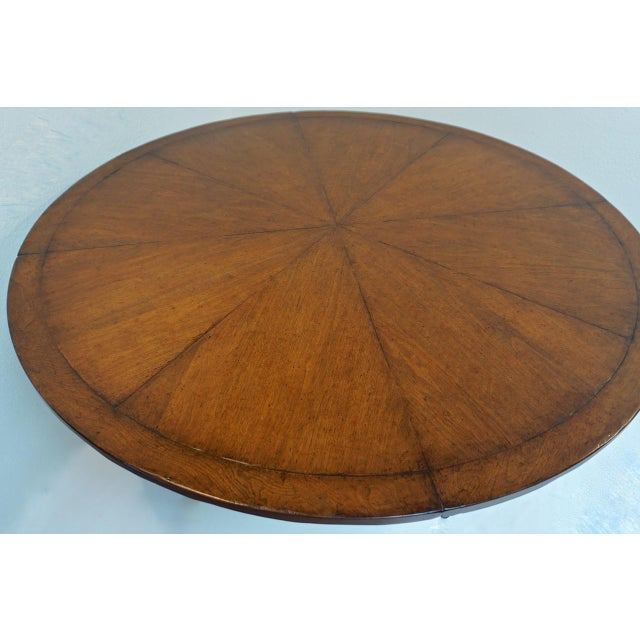 Magnificent Rose Tarlow 58 Round Mahogany Pedestal Dining Table Chairish Gmtry Best Dining Table And Chair Ideas Images Gmtryco