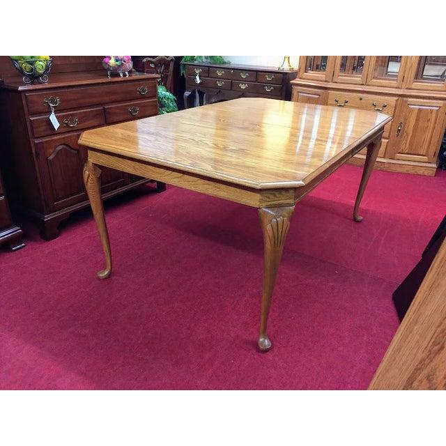 Brilliant Queen Anne Pennsylvania House Oak Dining Table Chairish Dailytribune Chair Design For Home Dailytribuneorg