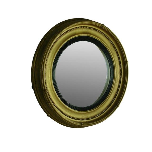 Regency Style Giltwood Convex Mirror - Image 3 of 8