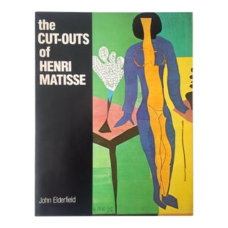 """ the Cut Outs of Henri Matisse "" Rare Vintage 1978 1st Edition Collector's Lithograph Print Modern Art Book For Sale"