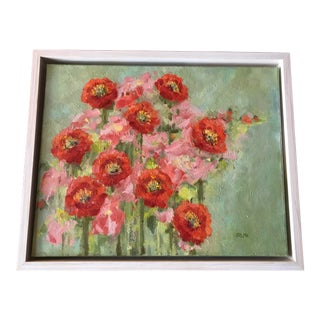 Poppy Field Oil Painting For Sale