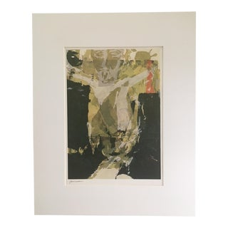 "Vintage Sister Corita Pop Modernist ""Resurrection"" Print"