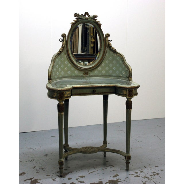 Vintage Victorian Vanity Dressing Table - Image 2 of 2