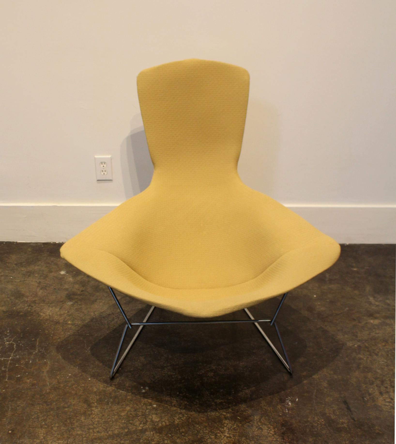 Harry Bertoia Bird Chair and Ottoman by Harry Bertoia for Knoll For Sale - Image 4 & Bird Chair and Ottoman by Harry Bertoia for Knoll | Chairish